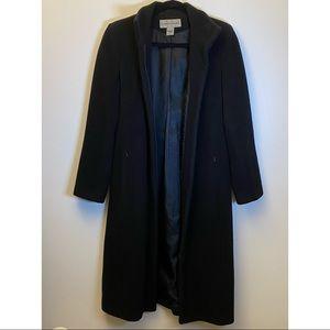 WAREHOUSE London Mod Black Cashmere34Car Coat New6